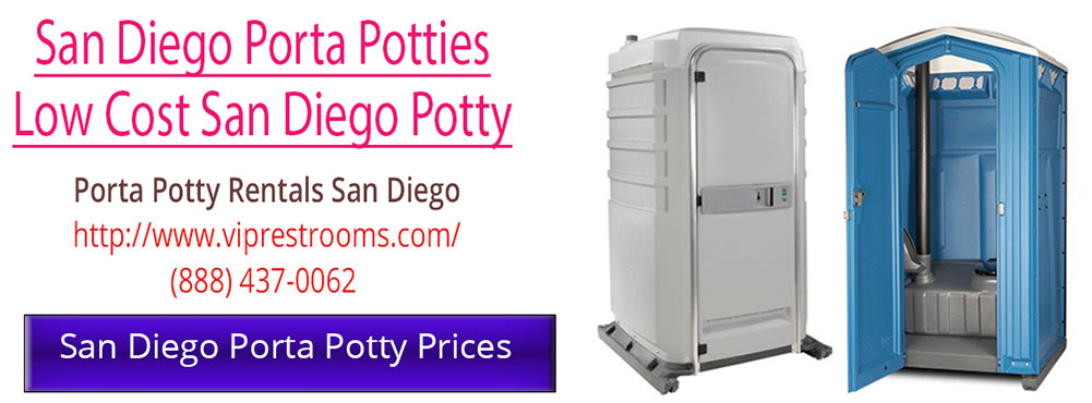 Porta Potty Prices in San Diego California