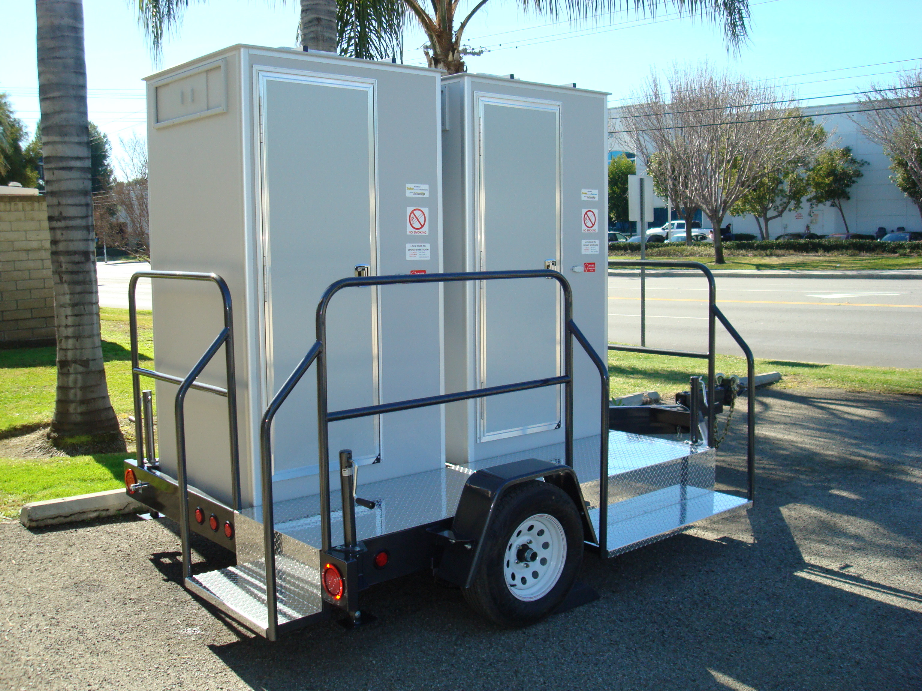 Vip Restrooms Porta Potties Restroom Shower Trailers