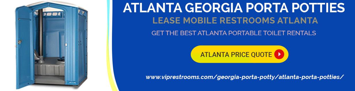 Atlanta Porta Potty Pricing & Rentals - Get Atlanta ...