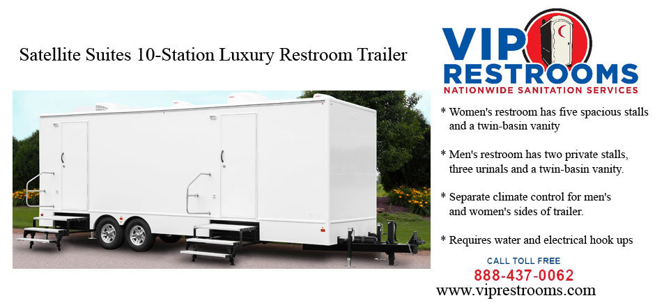 Portable Bathroom Trailers Prices For Mobile Bathroom Trailer Rentals