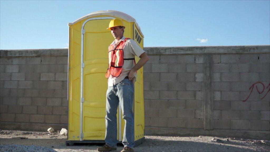 Job Site Portable Toilets : Construction job site porta potty rental get