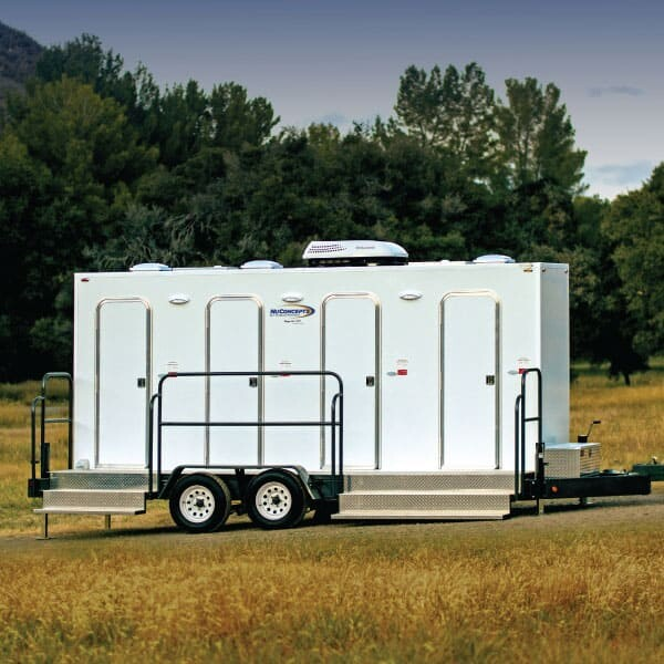 wheelchair accessible restroom trailer